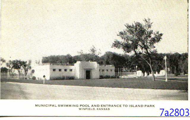 The Old Public Swimming Pool In Winfield Ks