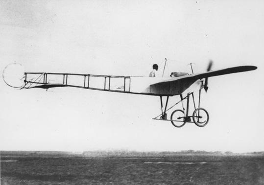 First Plane To Fly In Winfield Kansas Alvin K Longren At