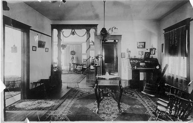 Interior Of Victorian House.